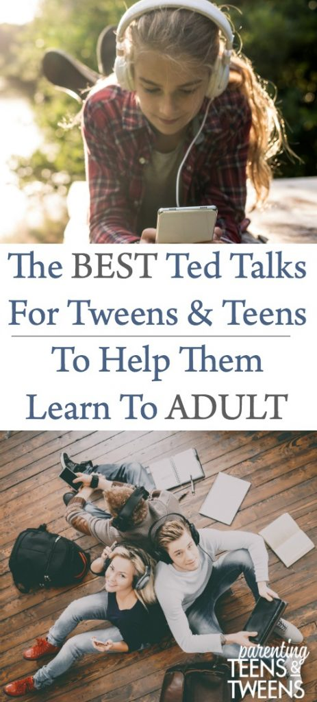 The Best Ted Talks For Teens and Tweens To Help Them Learn To Adults