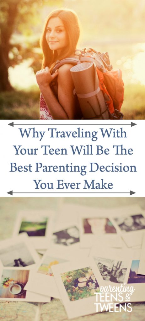 traveling with your teen