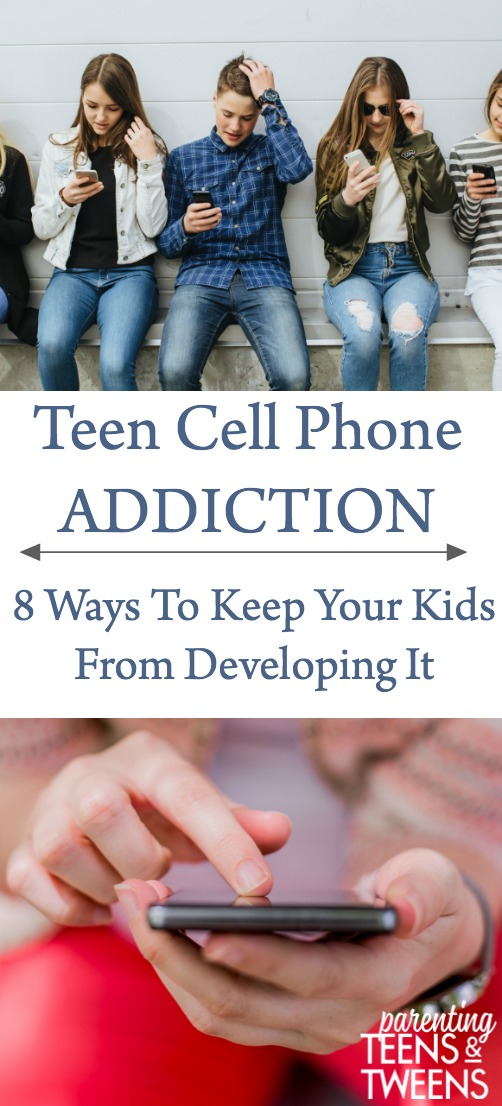 teen cell phone addiction and how you can fight it.