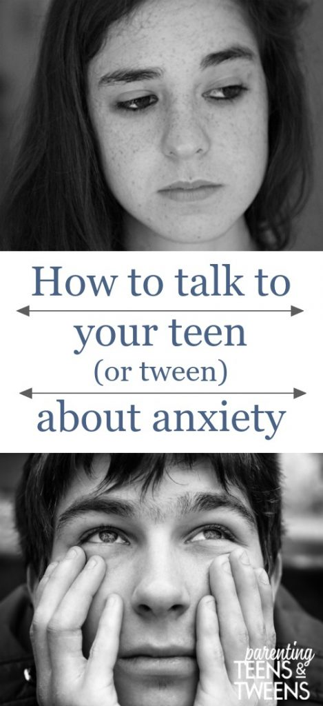 How to talk to teens about anxiety