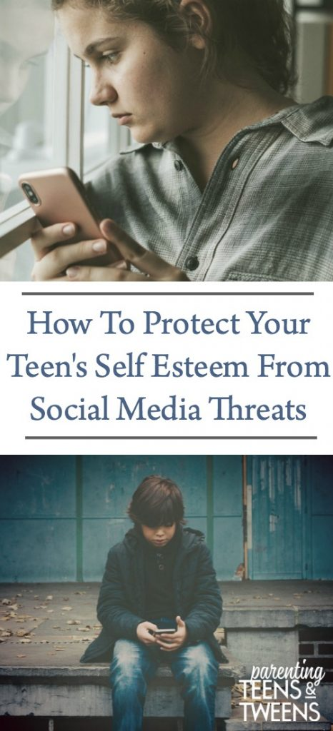 How To Protect Your Teen's Self Esteem From Social Media Threats