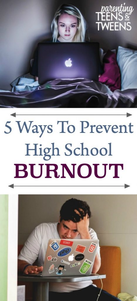 5 Ways To Prevent High School Burnout