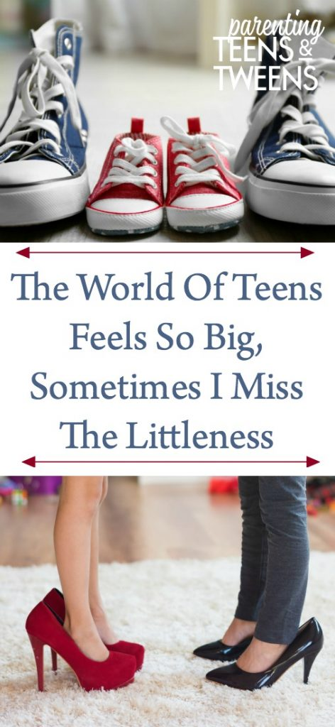 The World Of Teens Feels So Big, Sometimes I Miss The Littleness