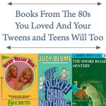 Books From The 80s You Loved And Your Tweens and Teens Will Too