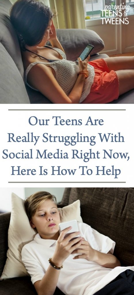 Our Teens Are Really Struggling With Social Media Right Now, Here Is How To Help